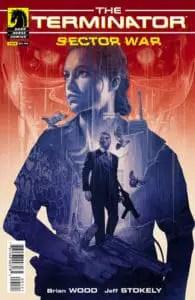 Terminator: Sector War #1 Variant Cover by Grzegorz Domaradzki