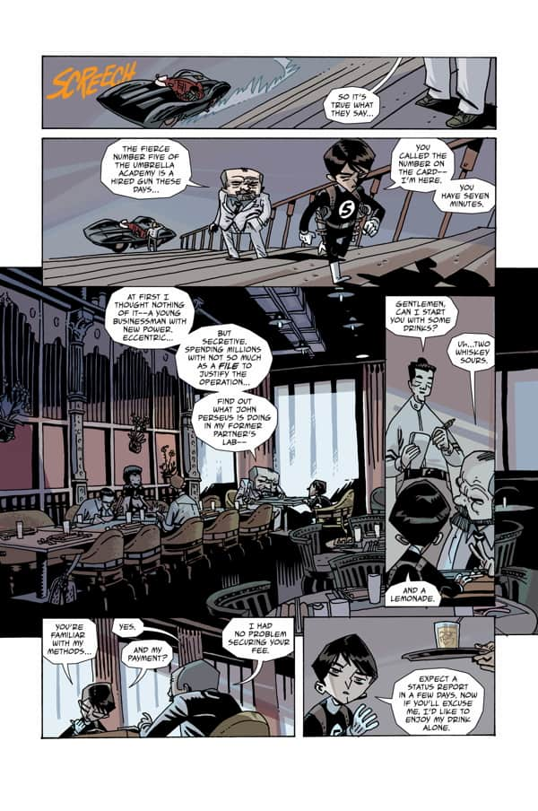 The Umbrella Academy: Hotel Oblivion #1 preview page 3