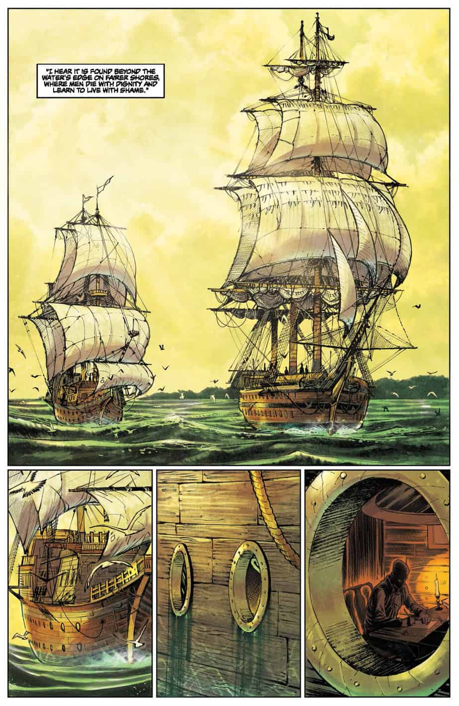 These Savage Shores #1 preview page 2