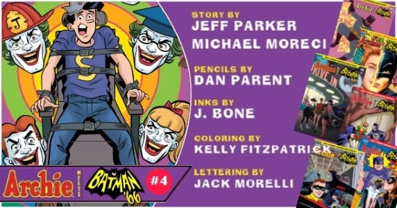 [Preview] Archie Comics' 10/31 Release: ARCHIE MEETS BATMAN '66 #4