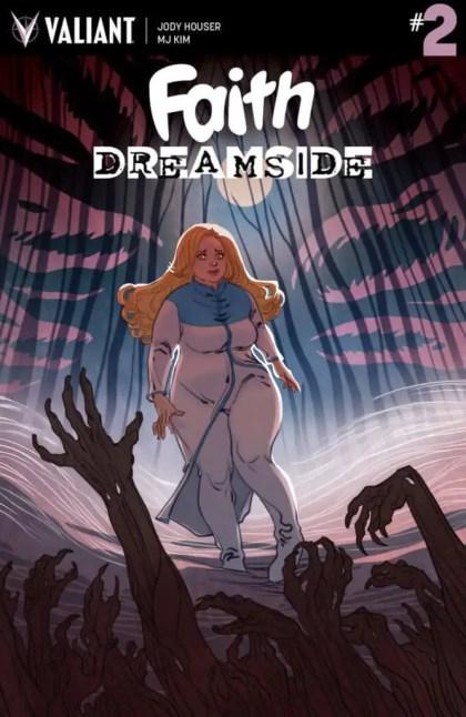 FAITH: DREAMSIDE #2 – Cover A by Marguerite Sauvage