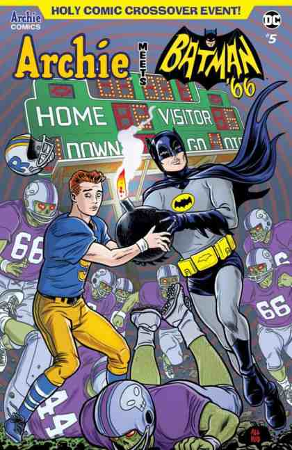 Archie Meets Batman '66 - Main Cover by Michael Allred & Laura Allred