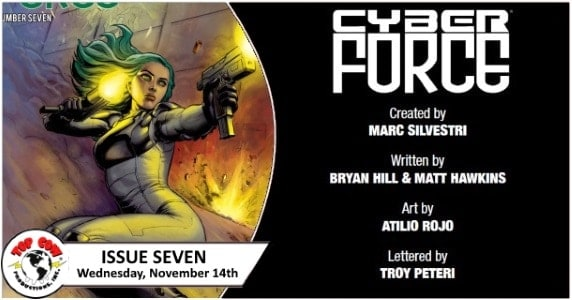 [Preview] Top Cow's 11/14 Release: CYBER FORCE #7