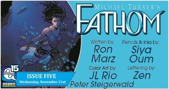 [Preview] Aspen Comics' 11/21 Release: FATHOM Vol. 7 #5