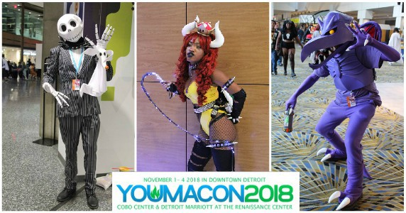 Cosplay Photos: Youmacon 2018
