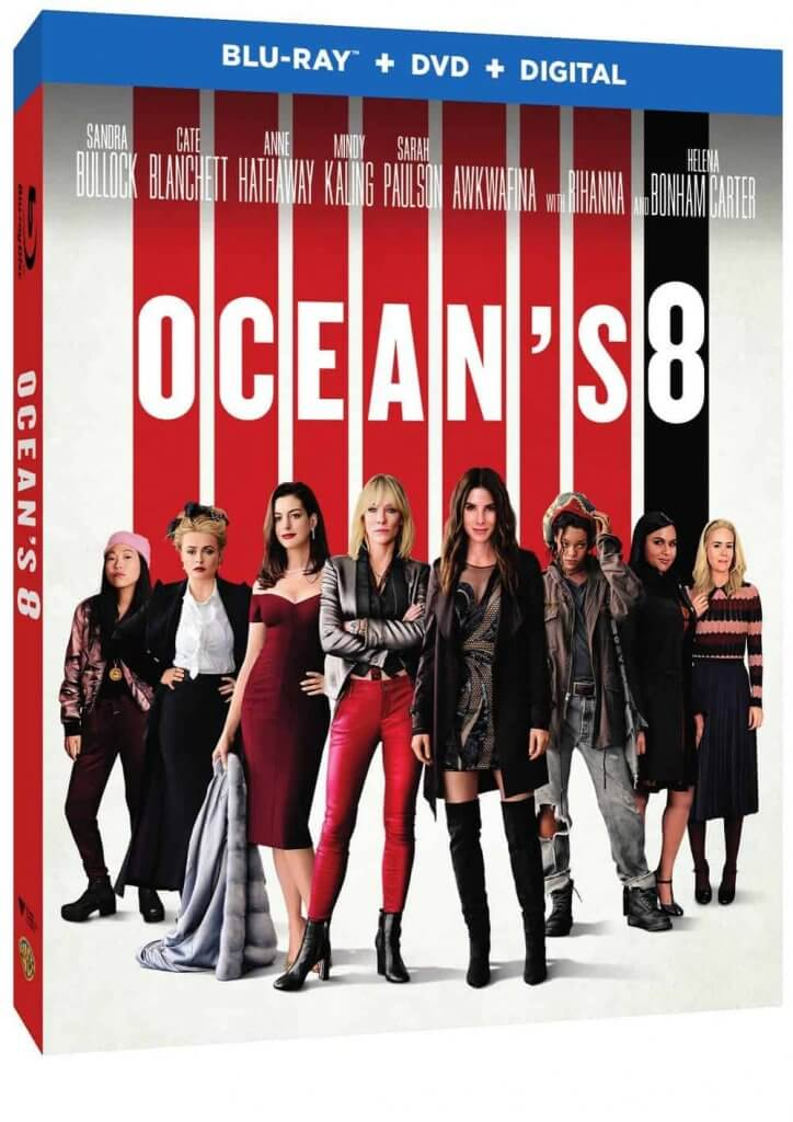 BluRay Review Oceans 8