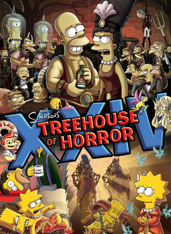 The Simpsons Treehouse of Horrors XXIV
