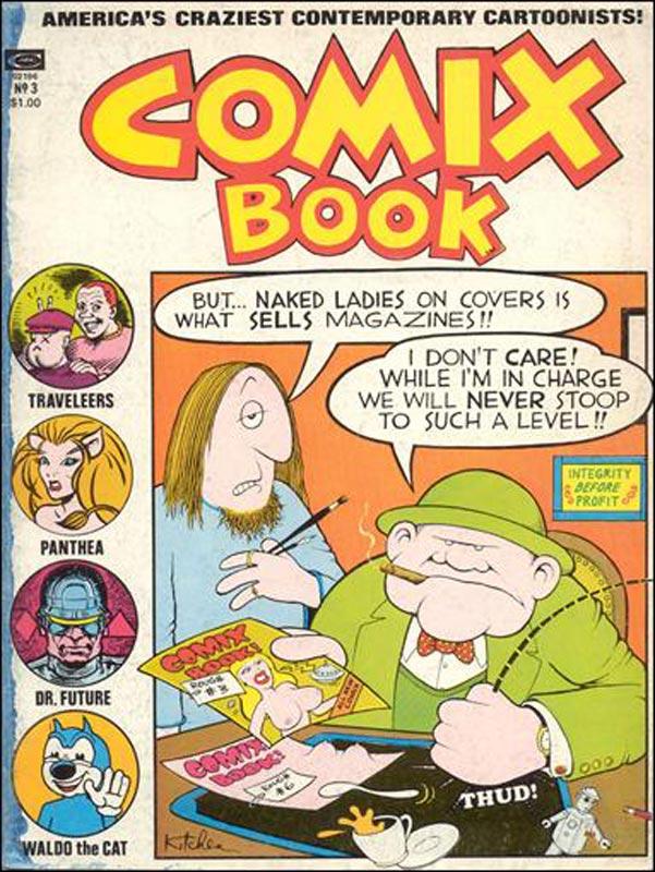 When Marvel Comics Went Underground With Comix Book