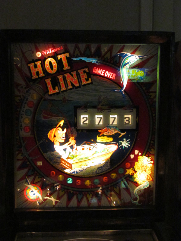 hot-line-backglass