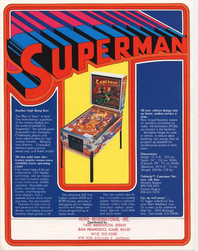 superman-pinball