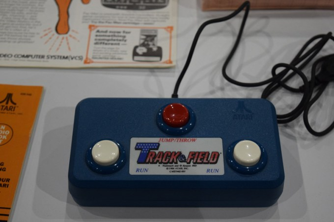 atari-track-&-field-controller