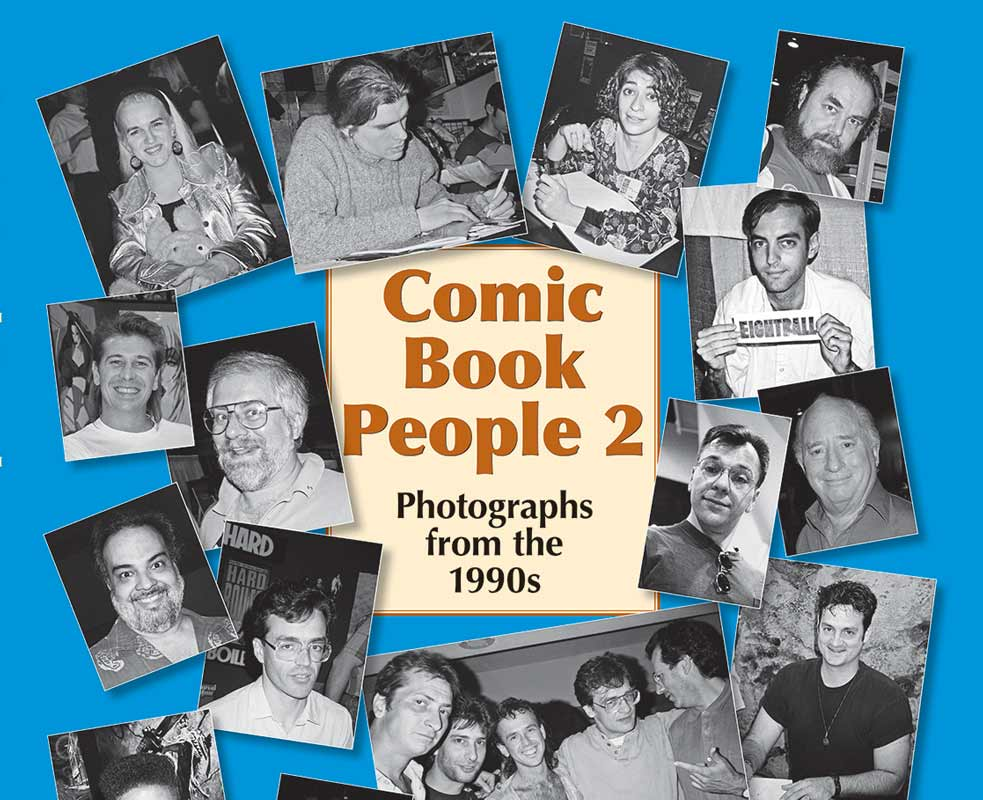 Comic Book People Release Party