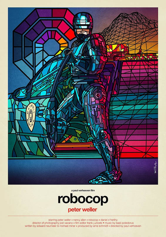 Stained Glass Movie Posters Pop Culture Monster