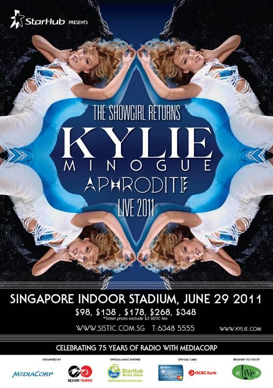 Kylie Minogue Aphrodite Live Concert Singapore
