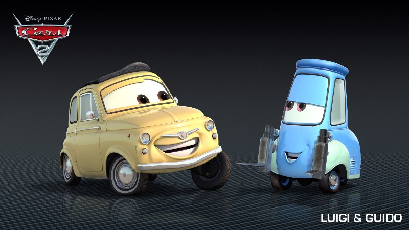 Cars 2 Character Roll Out Part 2 Popculture Online