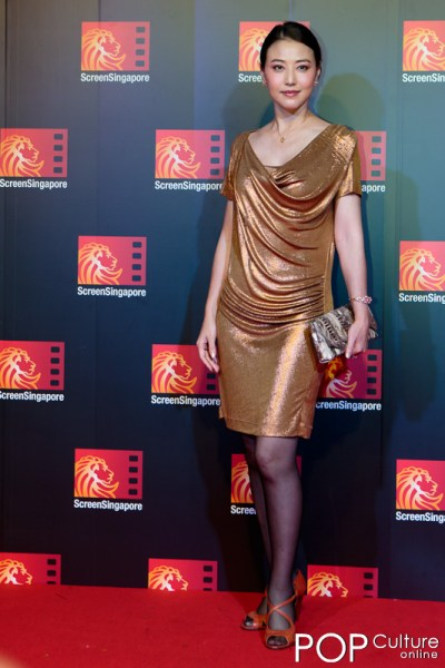 Screen Singapore 2012: The Last Tycoon Red Carpet - Kathy Chow