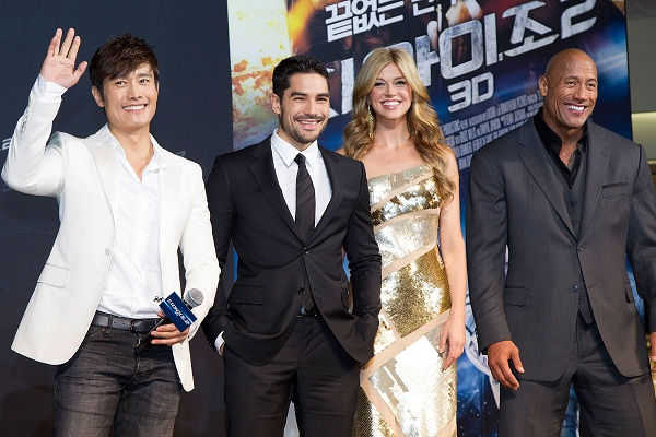 'G.I. Joe - Retaliation' Seoul World Premiere