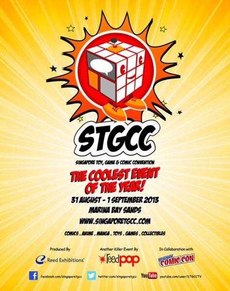 Singapore Toy, Games & Comic Convention 2013
