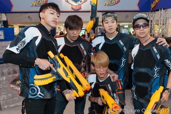 NERF POWERPLAY 2013 Ah Boys To Men