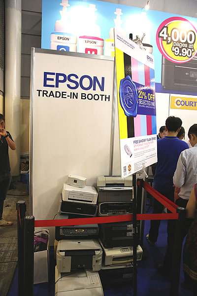 PC Show 2013 Epson Trade In Booth