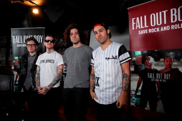 Fall Out Boy Singapore Press Conference