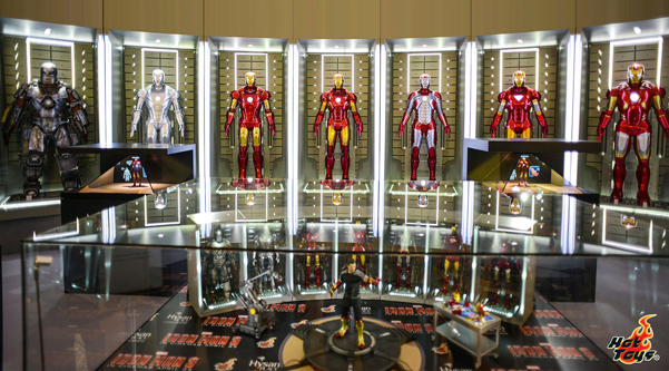 STGCC 2013 - Hot Toys - Ironman - Hall of Armor
