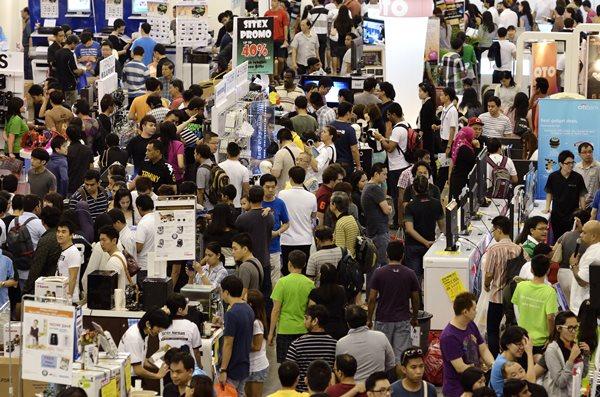 SITEX 2013 Crowded