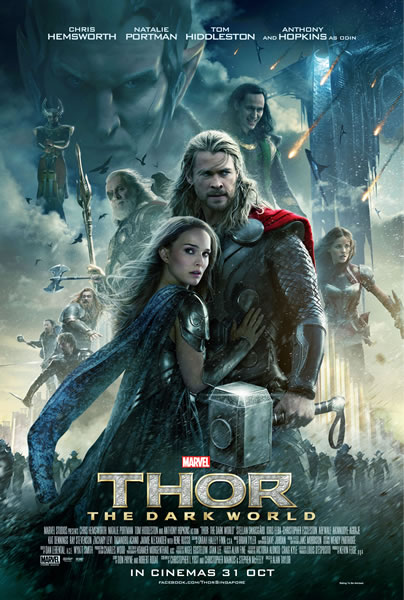 thor giveaway poster