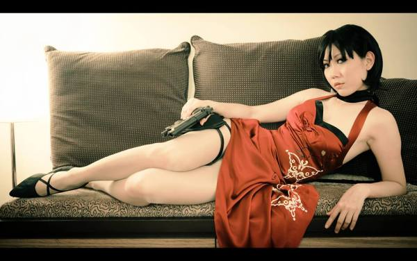 Resident Evil 4 Ada Wong Cosplay by Blacklash Jo