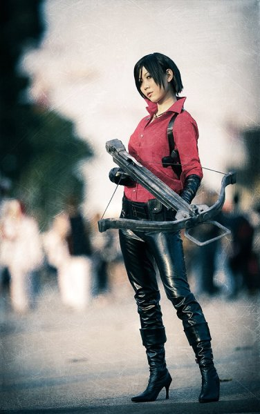 Resident Evil 6 Ada Wong Cosplay by Blacklash Jo