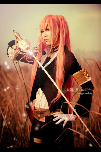 Rondo of the Sun and Moon Luka Megurine Cosplay by Blacklash Jo
