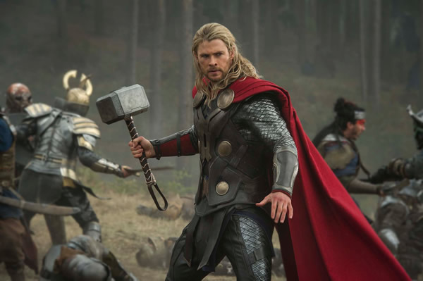 Thor The Dark World Thor In Action