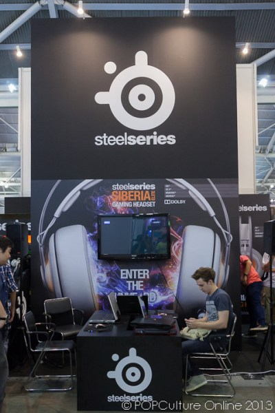 SITEX 2013 SteelSeries Booth