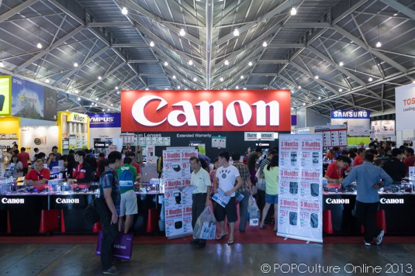 SITEX 2013 Canon Booth