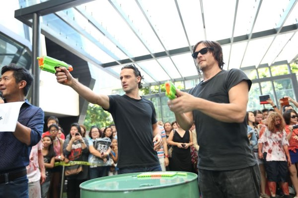 The Walking Dead Live Singapore with Andrew Lincoln and Norman Reedus