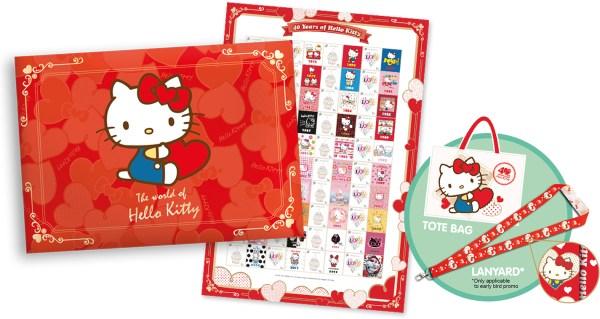 Hello Kitty Limited Edition MyStamp Book Set