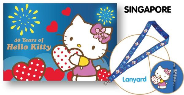 Hello Kitty Singapore MyStamp Folder Set