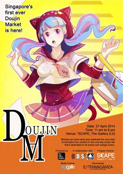 Spring Doujin Market Poster