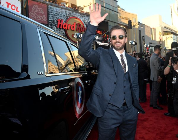 """Marvel's """"Captain America: The Winter Soldier"""" Premiere - Red Carpet"""