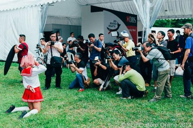 DBS Marina Regatta 2014 Cosplay