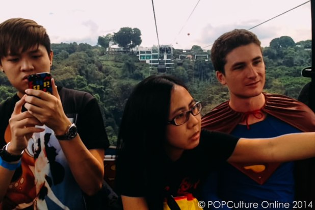 Fly With The Super Heroes Onboard Singapore Cable Car (17)