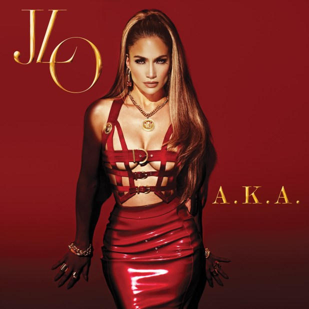 JLO Jennifer Lopez AKA Album Cover Art
