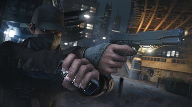 Watch Dogs Review Screen Shot Two Handed Iconic Adien
