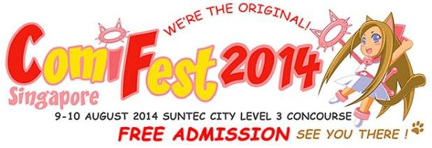 ComiFest 2014 Logo