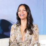Marvel's Guardians of the Galaxy Southeast Asia Press Conference - Zoe Saldana