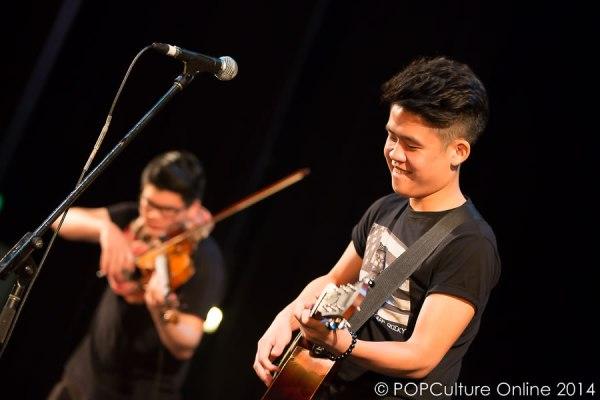 Alex Goot Against The Current Live In Singapore 2014 - Gentle Bones