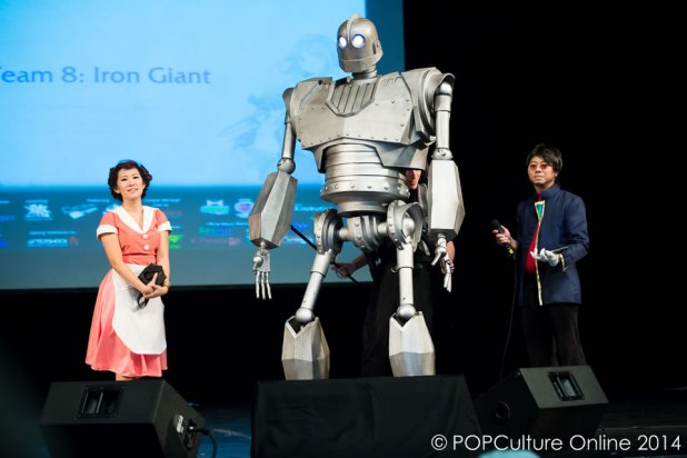 ICDS 2014 - Cosplay Talent - Iron Giant Cosplay