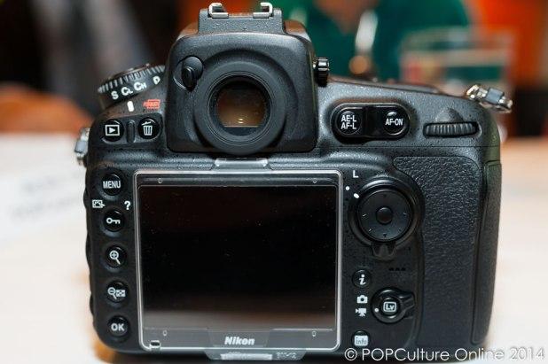 Nikon D810 Back View
