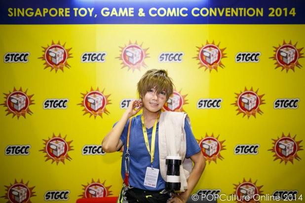 STGCC 2014 Cosplay Lenneth XVII Free Makoto