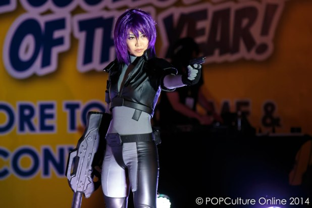 STGCC 2014 Cosplay Runway Major Motoko Kusanagi Ghost In The Shell